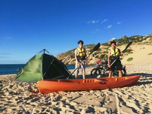 Camping tại Bãi Tràng