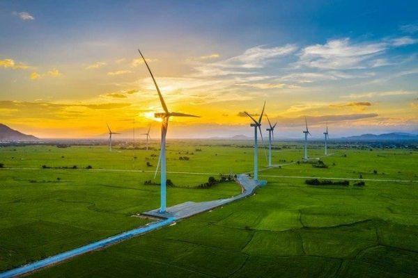 cánh đồng điện gió đầm nại ninh thuận