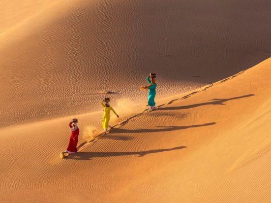 Đồi cát Nam Cương sự quyến rũ khó tìm của nơi đây