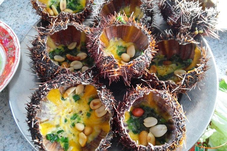 ăn gì ở Phan Rang với món nhum biển