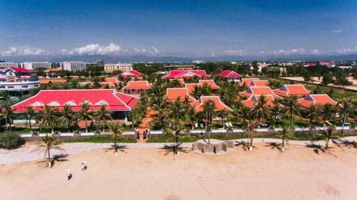 <em>Resort được đầu tư quy mô hứa hẹn mang đến chuyến đi nghĩ dưỡng đẳng cấp</em>
