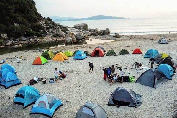 Địa điểm ưa thích của team dựng lều