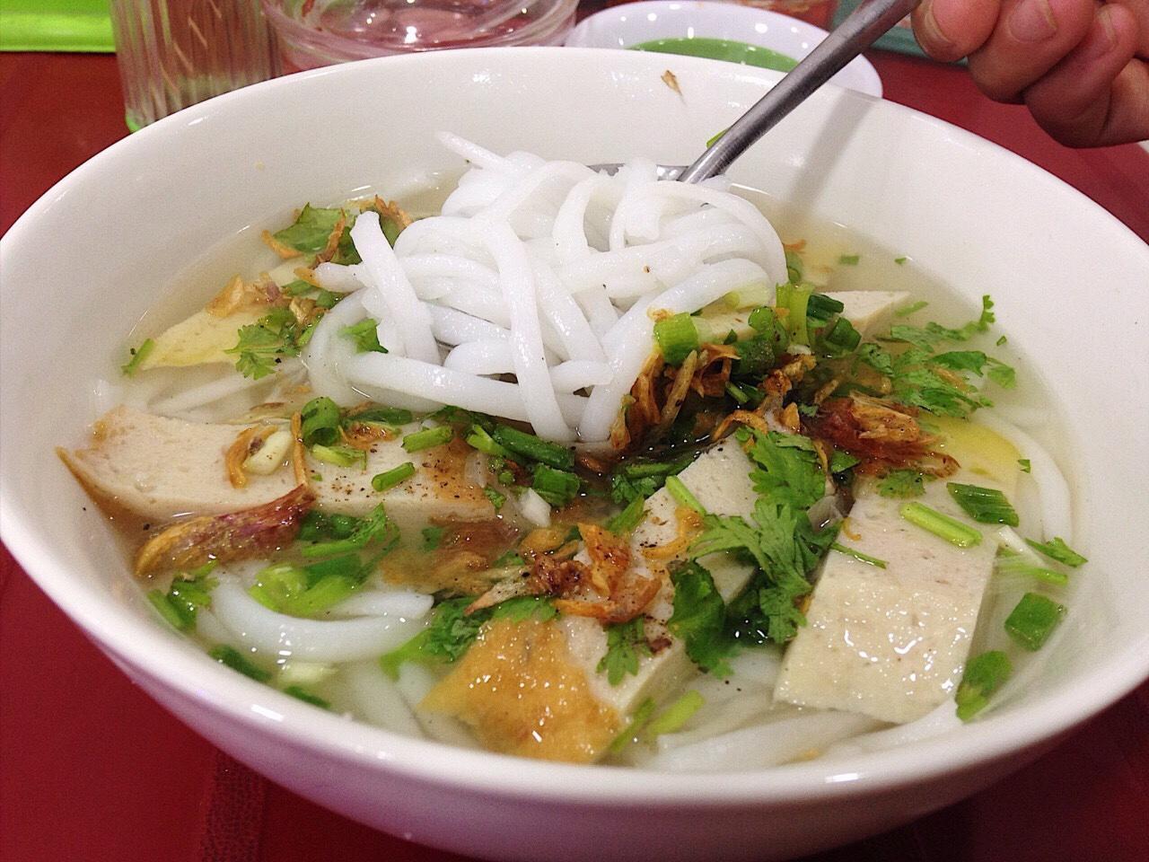 bánh canh chả cả Phan Rang - Ninh Thuận