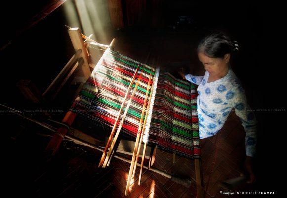 làng dệt Mỹ Nghiệp Ninh Thuận